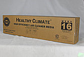 Healthy Climate Solutions Air Filter X5424