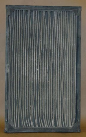 Dirty Pleated furnace filter